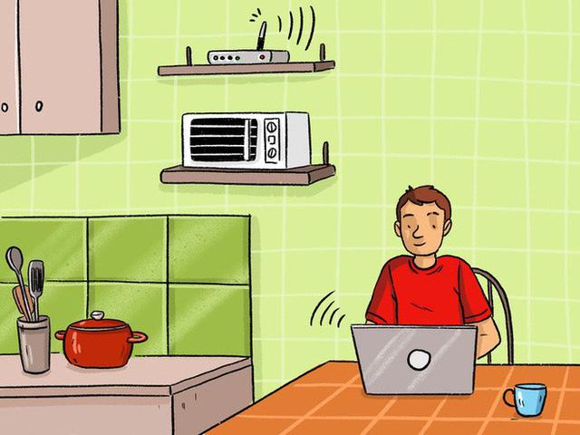 8 thứ trong nhà làm sóng wifi yếu đi mà chúng ta không biết - Ảnh 3.