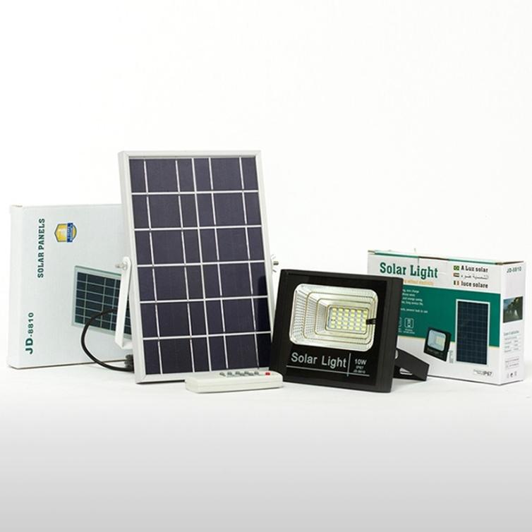Đèn năng lượng mặt trời 10w - JD8810 | Đèn led chính hãng Việt Solar