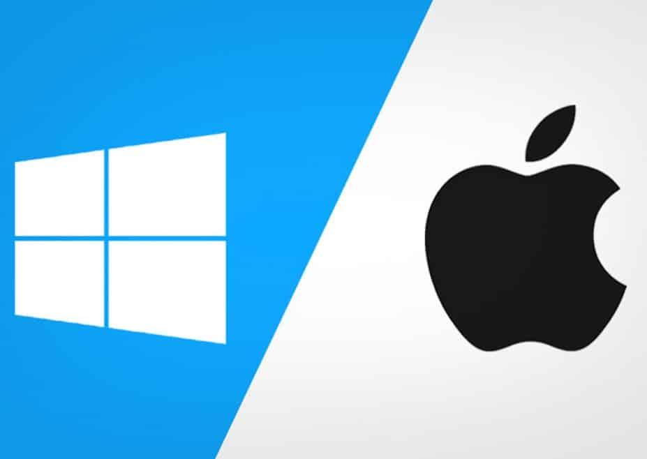 Mức độ phổ biến của macOS và Windows
