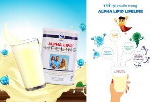 Sữa non Alpha Lipid Lifeline nhập khẩu từ New Zealand