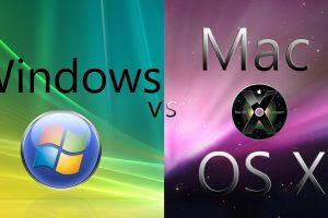 so sánh windows và mac os