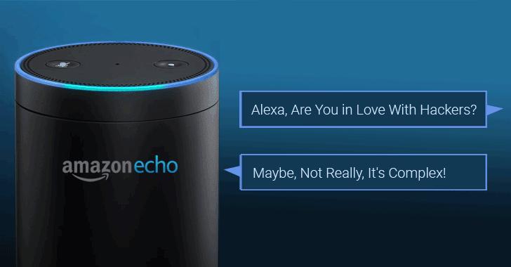 Trợ lý ảo Alexa có thể bị biến thành công cụ nghe lén
