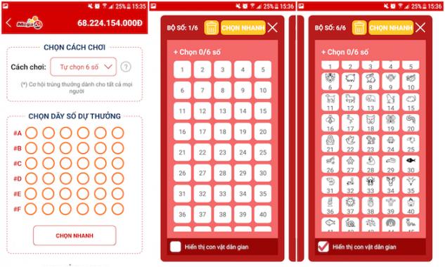 Hướng dẫn chi tiết cách mua vé số Vietlott Online đơn giản, nhanh gọn