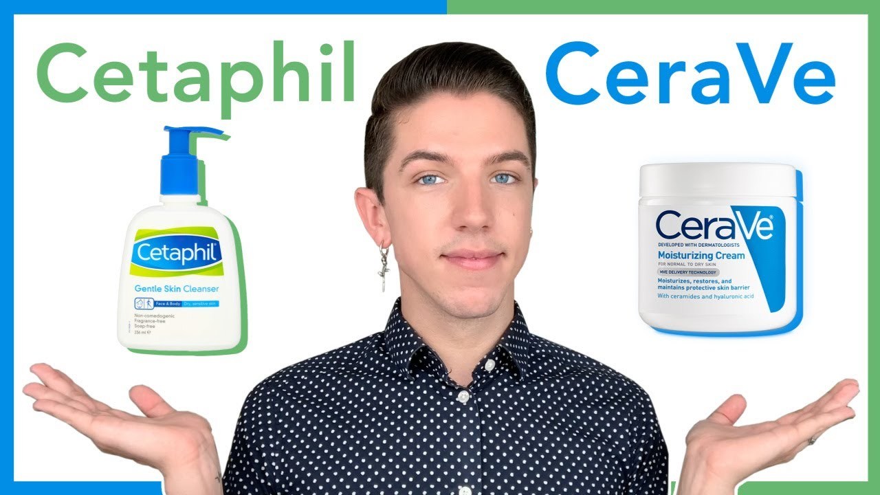 sữa rửa mặt cerave và cetaphil