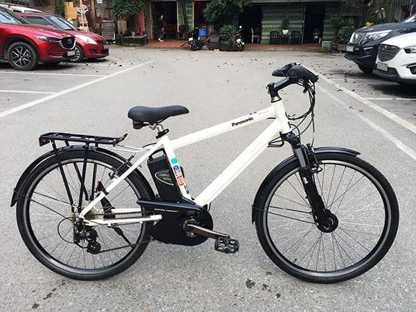 Xe đạp điện thể thao Panasonic Hurryer