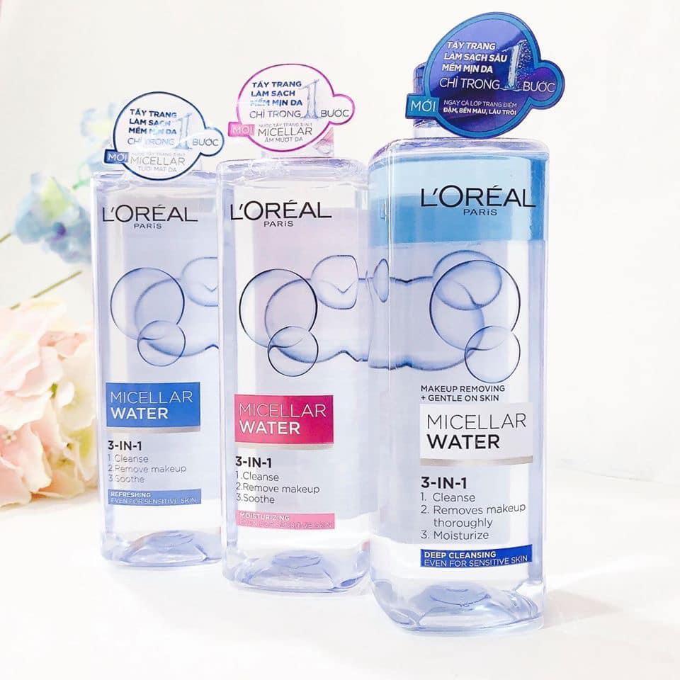 Nước tẩy trang cho da nhạy cảm