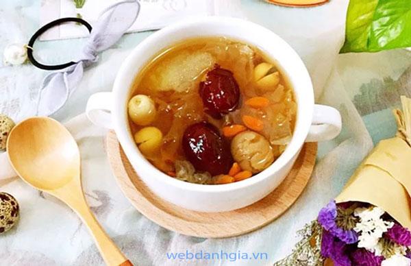 Chè dưỡng nhan 10 vị