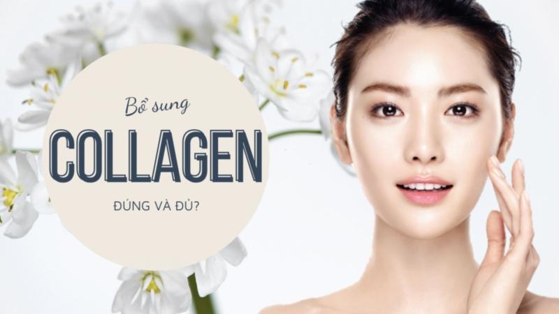 Bổ sung collagen đúng và đủ giúp mang đến vẻ đẹp và sức khỏe hoàn hảo nhất