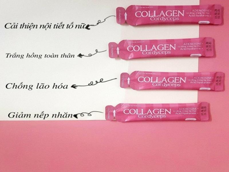 Collagen nước có hiệu quả chăm sóc làn da và sức khỏe rất vượt trội