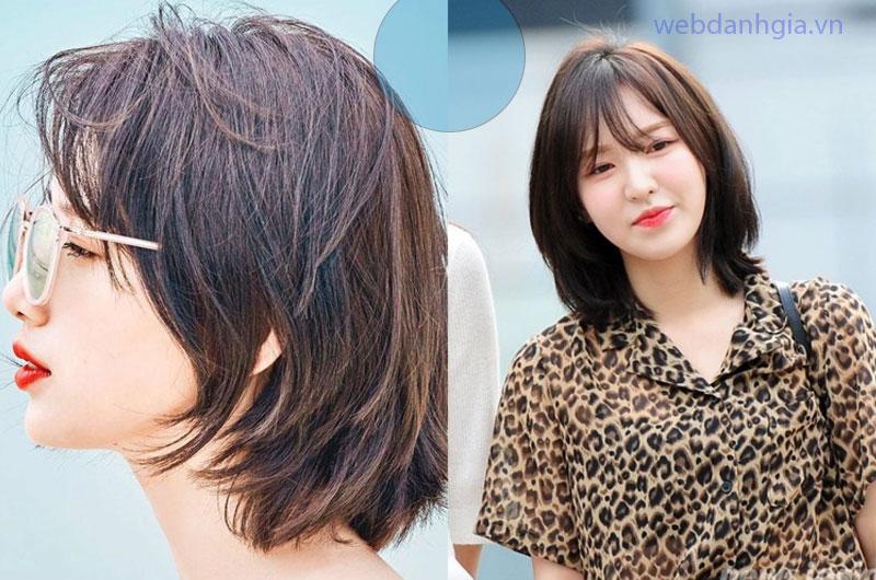 Kiểu tóc mullet nữ ngắn