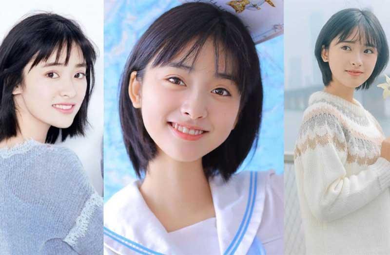 Kiểu tóc layer nữ phong cách Nhật Bản đặc trưng với phần đuôi tóc ôm vào