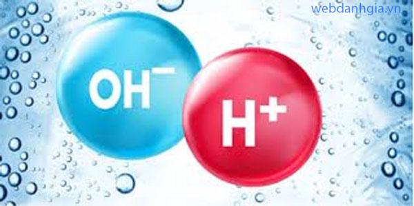 Các câu hỏi liên quan đến nước điện giải ion kiềm?