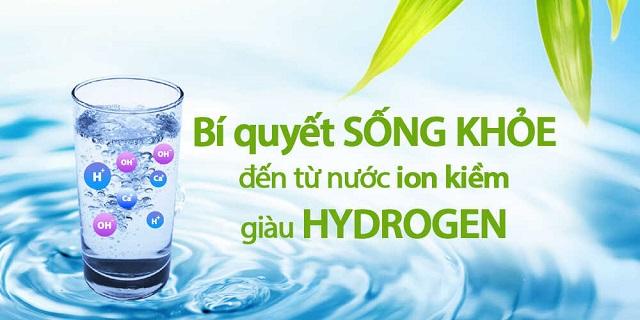 Máy lọc nước ion kiềm - Bí quyết sống khỏe