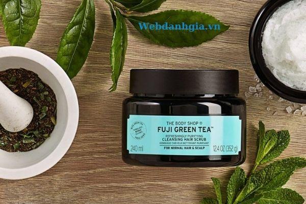 Muối tẩy tế bào chết da đầu Fuji green tea