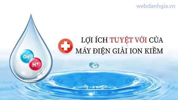 Tại sao uống nước điện giải ion kiềm lại có thể hỗ trợ và điều trị được nhiều bệnh?