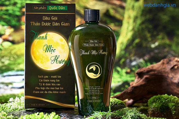 Tinh dầu dưỡng tóc – dầu gội thảo dược bồ kết Thanh Mộc Hương