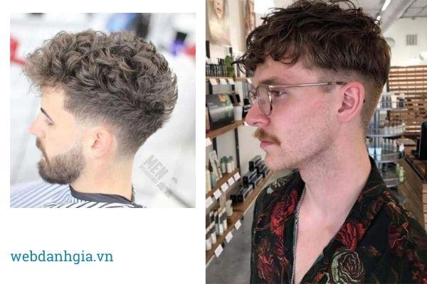 Tóc mohican xoăn quyến rũ