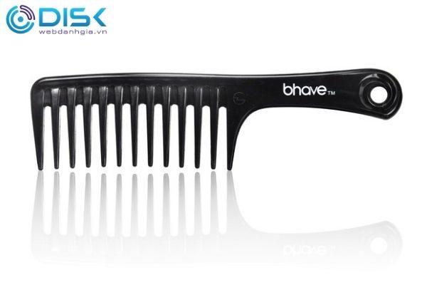 Lược thưa thường hay dùng cho những mái tóc xoăn khô