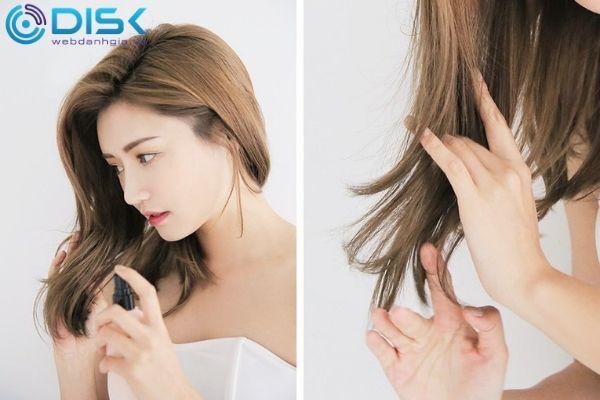 Không vuốt tóc hoặc buộc tóc quá chặt gây ảnh hưởng đến tóc