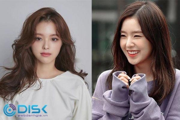 Tóc layer nữ dài Hàn Quốc đẹp