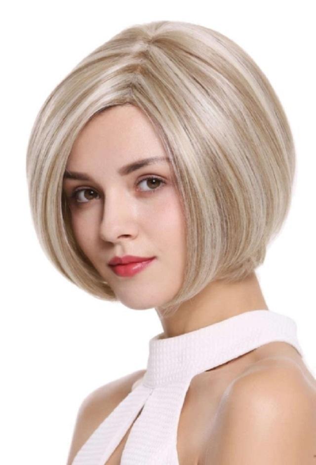 Kiểu tóc layer nữ ngắn uốn cụp