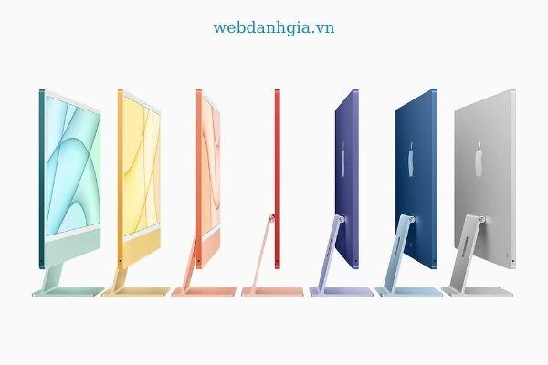 Màu sắc trên Macbook Air 2021 dự tính sẽ giống với Imac