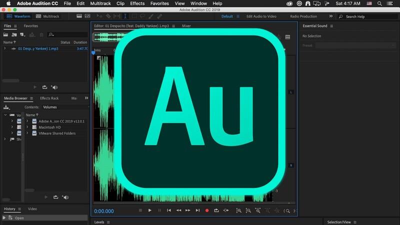 Chức năng chính của Adobe Audition CS6