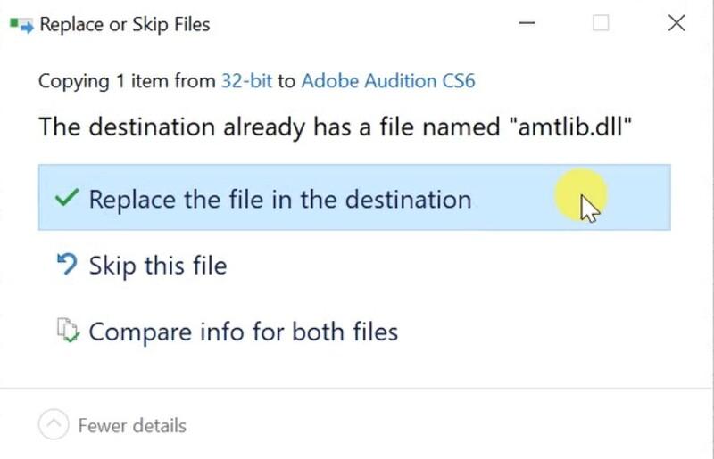 Quá trình cài đặt Adobe Audition CS6